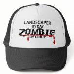 Landscaper Zombie Trucker Hat