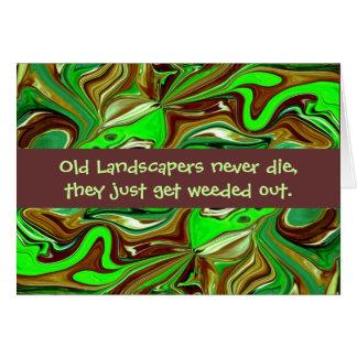 landscapers humor card
