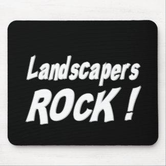 Landscapers Rock! Mousepad
