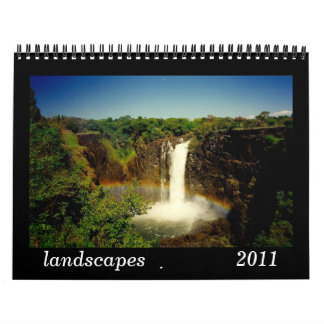landscapes 2011 calendar