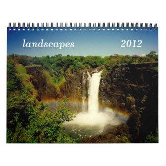 landscapes 2012 calendar