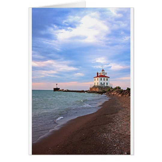 Landscapes and Lighhouses - Calm Before the Storm Card