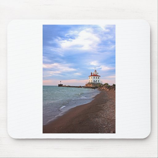 Landscapes and Lighhouses - Calm Before the Storm Mousepads