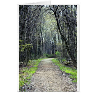 Landscapes and Lighthouses - A Path Less Traveled Card