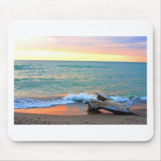 Landscapes and Lighthouses - Headlands Sunset Mouse Pad