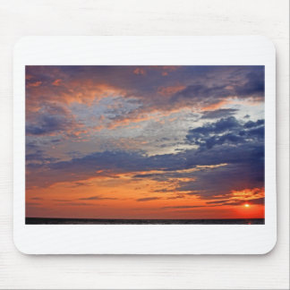 Landscapes and Lighthouses - Lake Erie Sunset Mouse Pad
