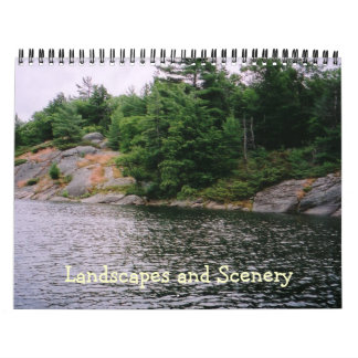 Landscapes and Scenery Calendar