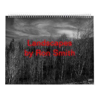 Landscapes by Ron Smith Calendar