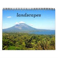landscapes calendar