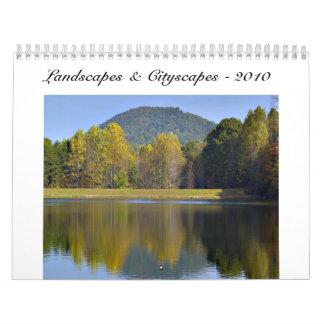 Landscapes & Cityscapes - 2010 Calendar