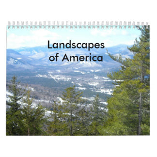 Landscapes of America Wall Calendars