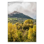 Landscapes of Italy, Casoli, Abruzzo Greeting Card