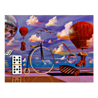 Landscapes sea hawaii cruise chess art postcards
