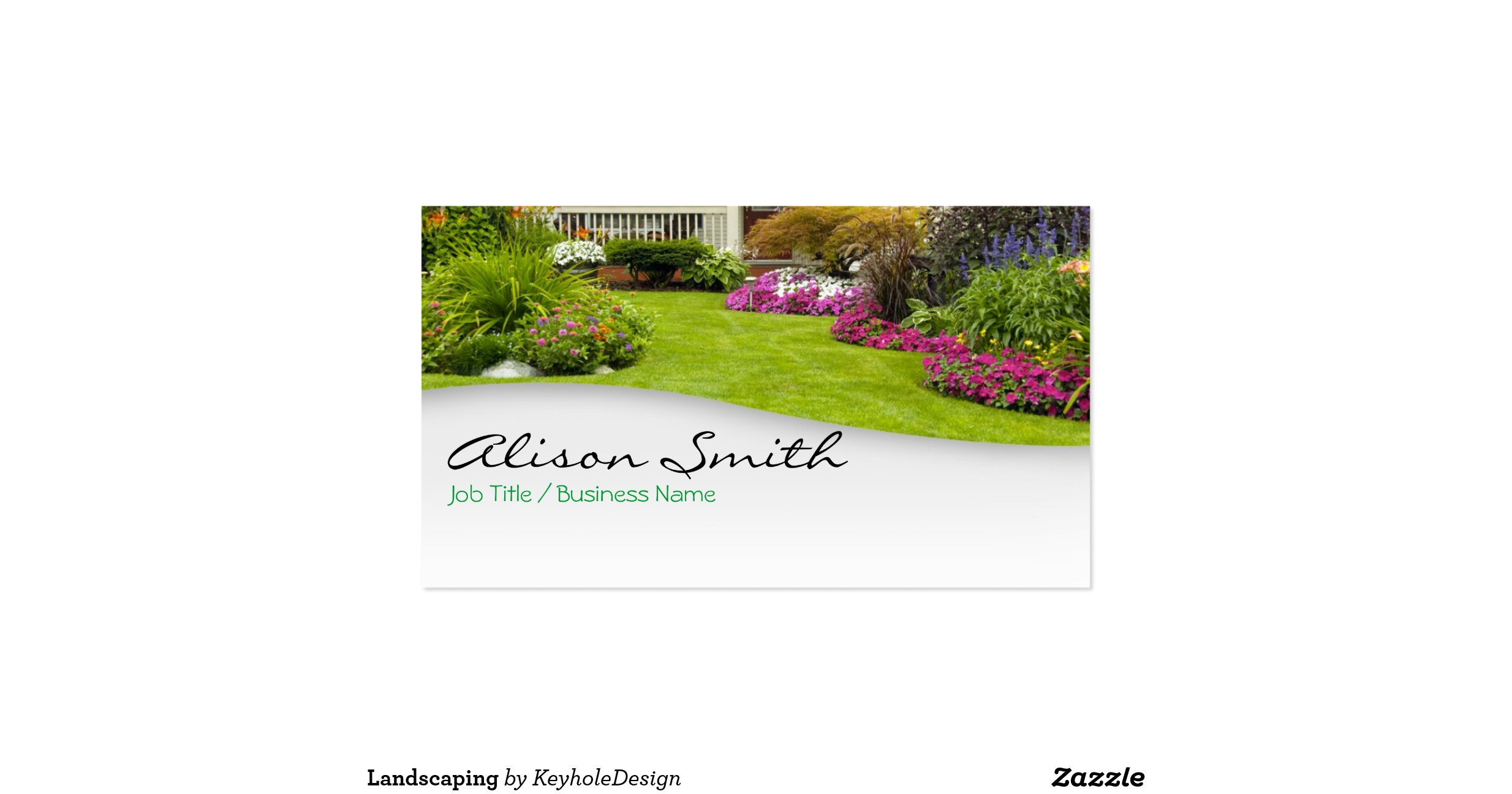 Landscaping Business Cards images