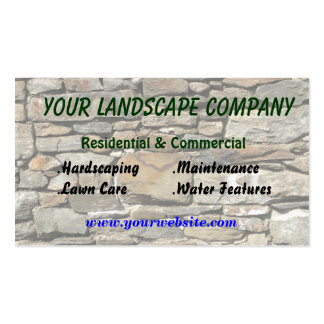 Landscaping Business Card Template