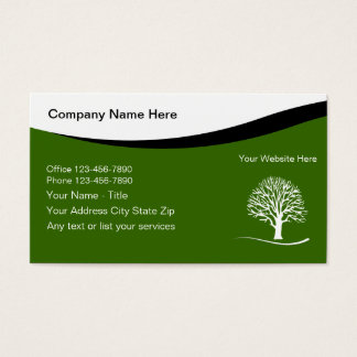 Landscaping Business Cards & Templates | Zazzle