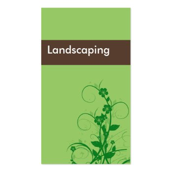 Landscaping Business Cards - Business Cards Galore