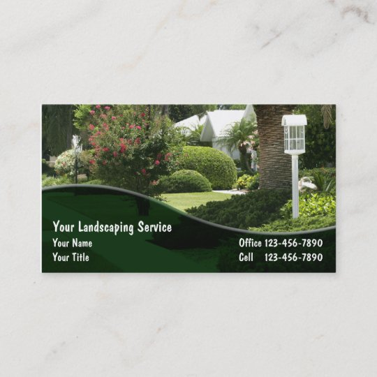 - Landscaping Business Cards Zazzle.com