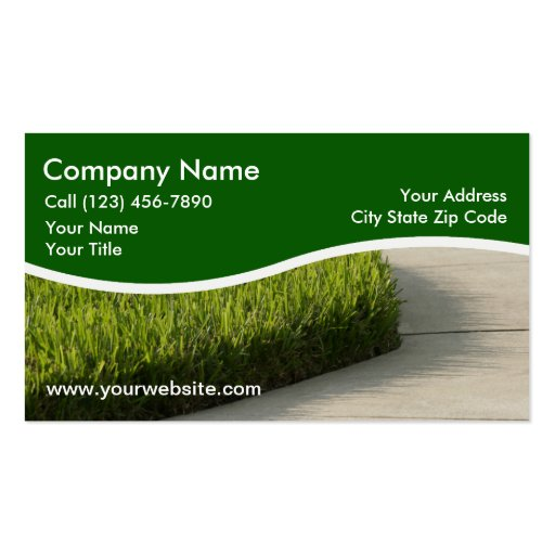 Landscaping Business Card Templates - Page2 | BizCardStudio