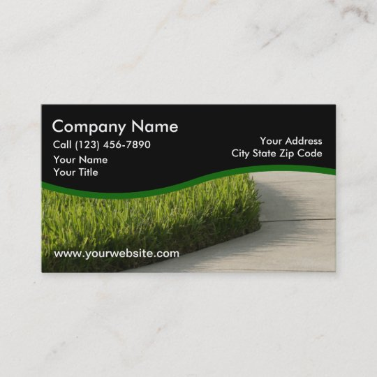 Landscaping business cards zazzle landscaping business cards colourmoves