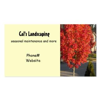 Landscaping Design Business Card