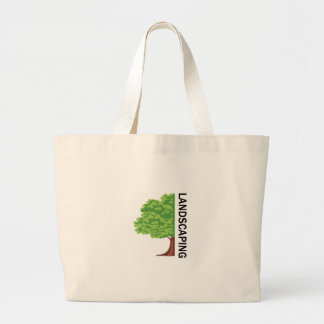 Landscaping Jumbo Tote Bag