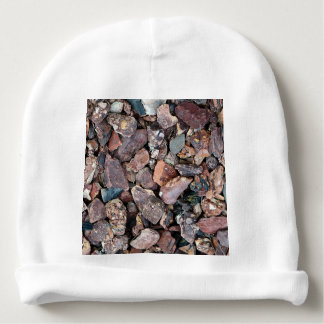 Landscaping Lava Rock Rubble and Stones Baby Beanie