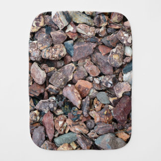 Landscaping Lava Rock Rubble and Stones Burp Cloth