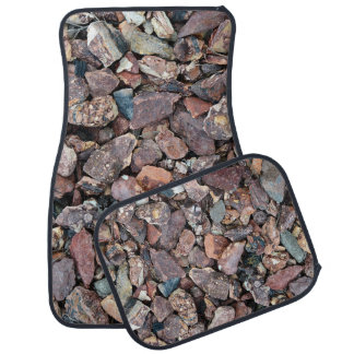 Landscaping Lava Rock Rubble and Stones Car Mat