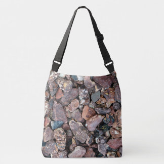 Landscaping Lava Rock Rubble and Stones Crossbody Bag
