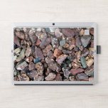 """Landscaping Lava Rock Rubble and Stones HP Laptop Skin<br><div class=""""desc"""">Debris and a mix of colorful Lava Rock landscaping decorative stone mulch gives a strong texture statement on your product.</div>"""