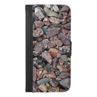 Landscaping Lava Rock Rubble and Stones iPhone 6/6s Plus Wallet Case