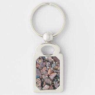 Landscaping Lava Rock Rubble and Stones Keychain