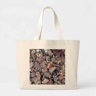 Landscaping Lava Rock Rubble and Stones Large Tote Bag
