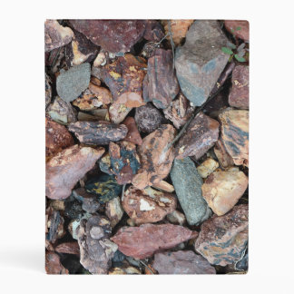 Landscaping Lava Rock Rubble and Stones Mini Binder