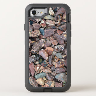 Landscaping Lava Rock Rubble and Stones OtterBox Defender iPhone 7 Case