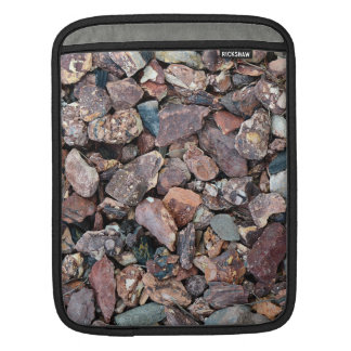 Landscaping Lava Rock Rubble and Stones Sleeve For iPads