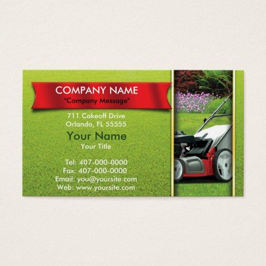 Lawn Care Business Cards, 600+ Lawn Care Business Card Templates