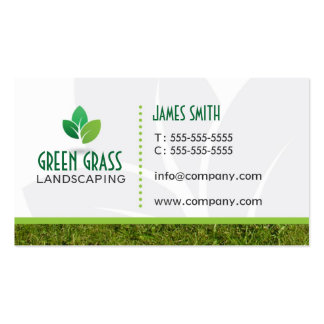 Landscaping Professional Business Card