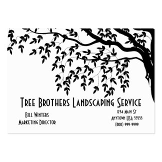 Landscaping Services Business Card