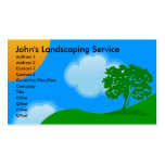 Landscaping Services Business Cards