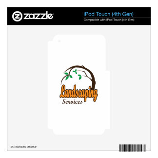 LANDSCAPING SERVICES SKIN FOR iPod TOUCH 4G