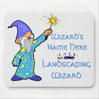 Landscaping Wizard - Mouse Pad