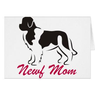 Landseeer Newfoundland Mom Card