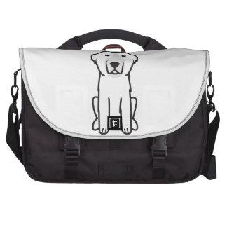 Landseer Dog Cartoon Commuter Bags