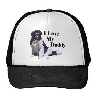 Landseer Loves His Daddy Trucker Hat