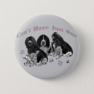 LANDSEER NEWFOUNDLAND CAN'T HAVE JUST ONE PINBACK BUTTON