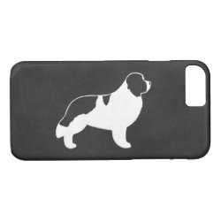 Case-Mate Barely There iPhone 7 Case with Newfoundland Phone Cases design