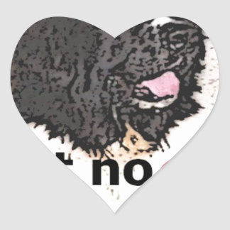 Landseer Products Heart Sticker