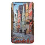 Landshut - motorista en el callejón del guijarro Case-Mate iPod touch coberturas